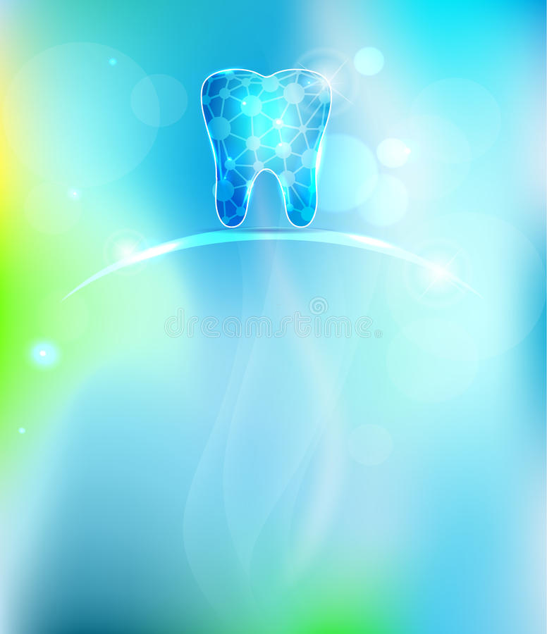 Dental background stock illustration