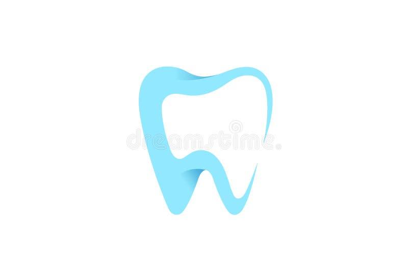 Creative Dental Teeth Smile Logo Care Clean Teeth Symbol. Dental Care Clean Teeth Logo Design Symbol Vector Illustration vector illustration