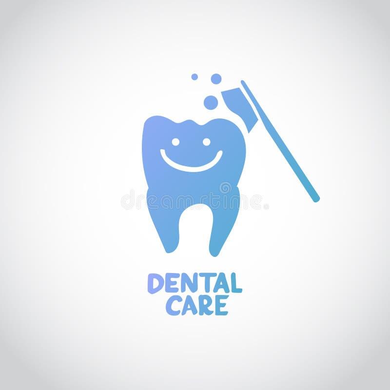 Dental care design concept vector illustration