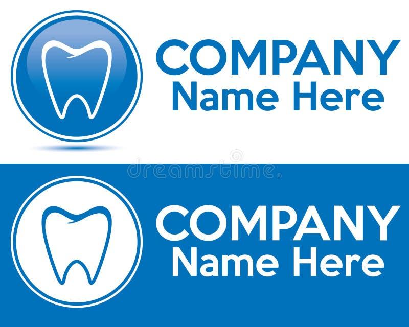Dental care logo royalty free stock photography