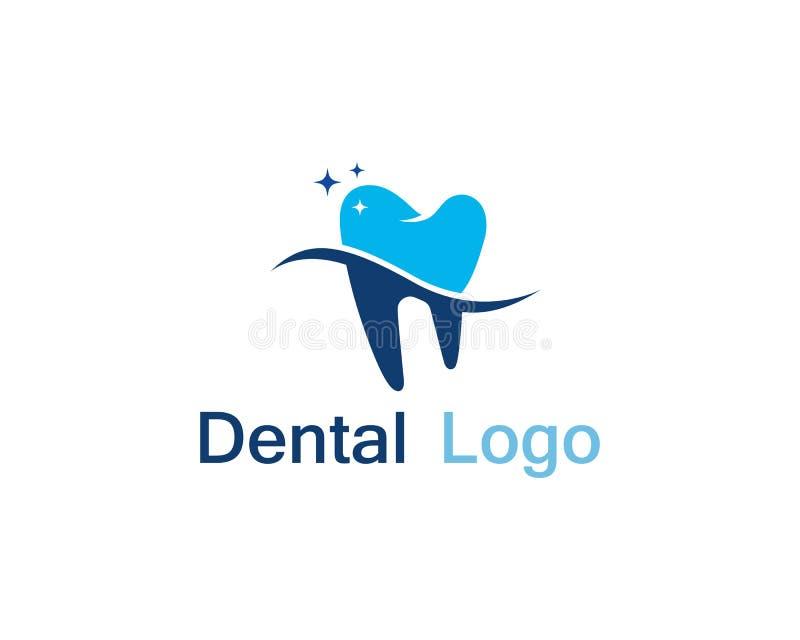 Dental care logo and symbol. Vector stock illustration