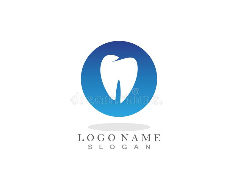 Dental care logo and symbols template icons app.  vector illustration