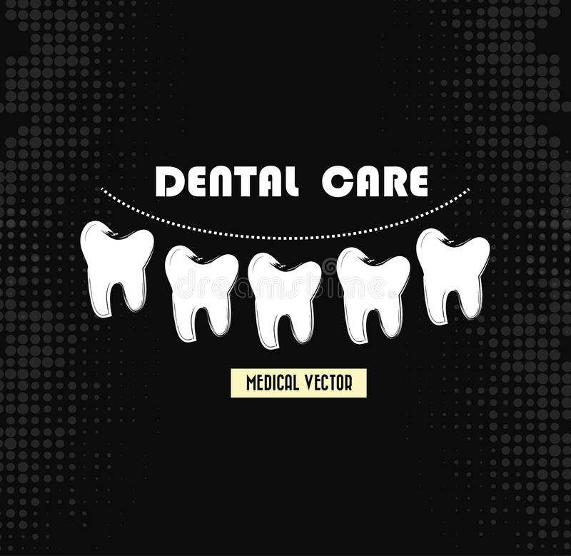 Dental care royalty free illustration
