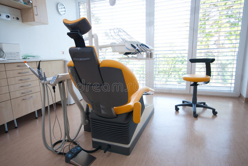 Dental chair I. royalty free stock photo