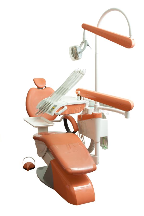 Dental Chair In The Office Stock Photo