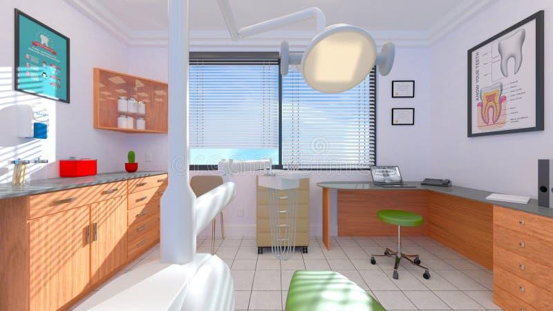 Dental clinic vector illustration
