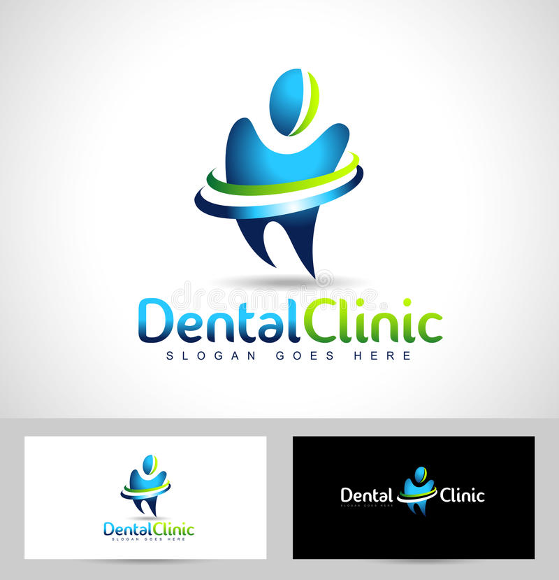 Logo design ideas for business cards great during the design affordable dental logo design dentist logo dental clinic creative company vector logo and business card template with logo design ideas for business cards reheart Image collections