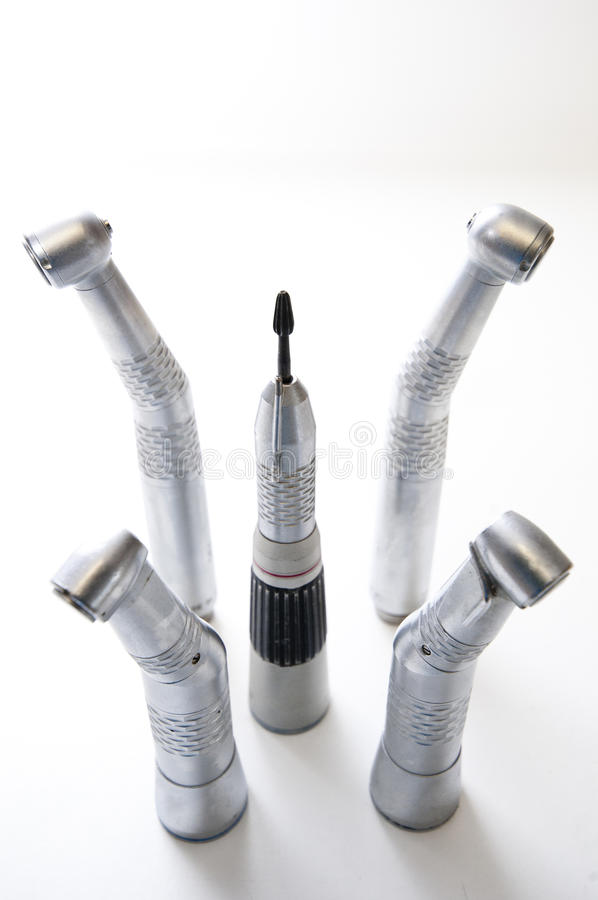 Dental Handpieces royalty free stock photo