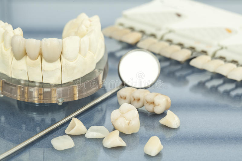 Dental health care. Close up view stock photo