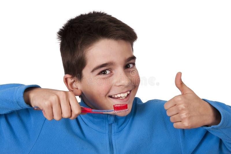 Dental hygiene stock image