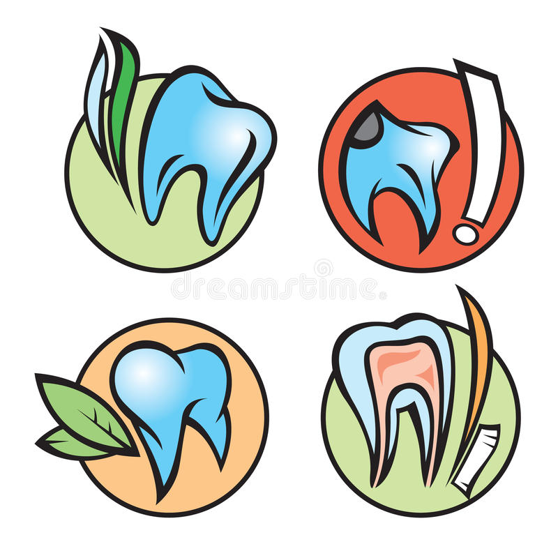 Download Dental icons stock vector. Image of design, simplicity - 16654617