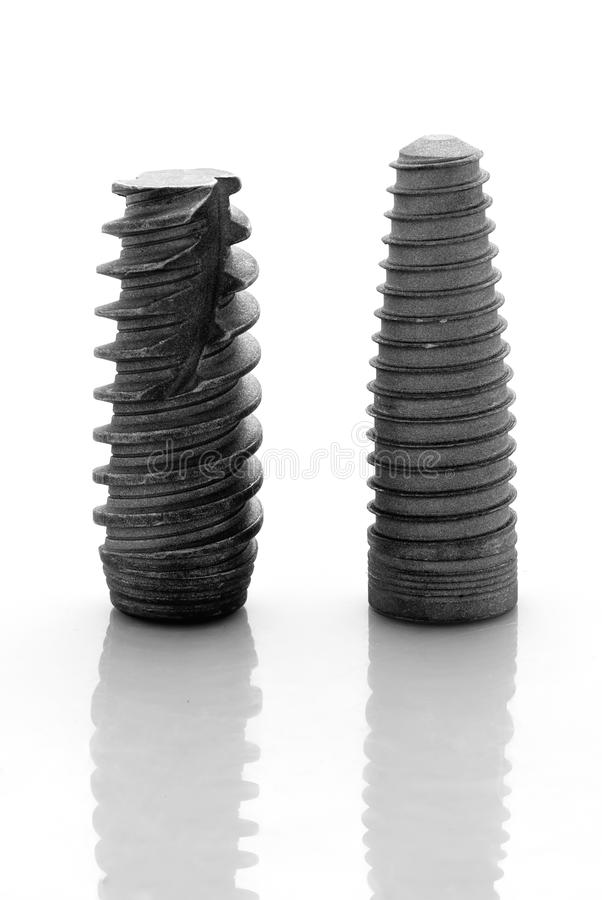 Dental implants 1 stock photography