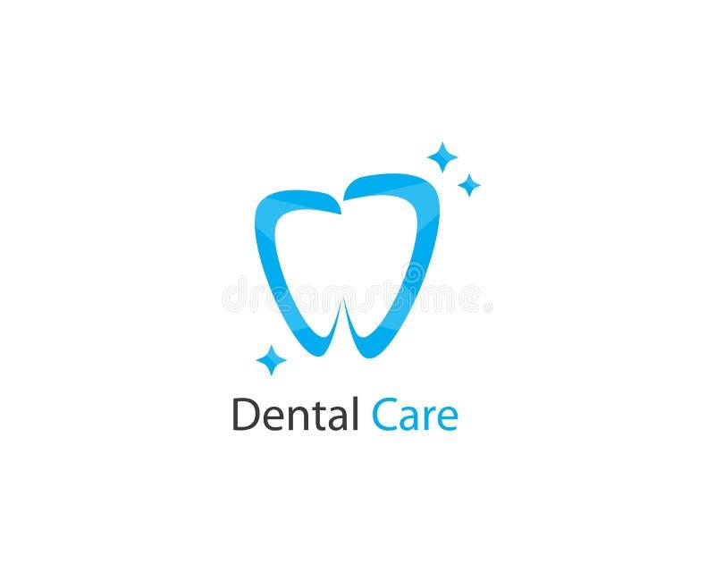 Dental logo Template vector illustration
