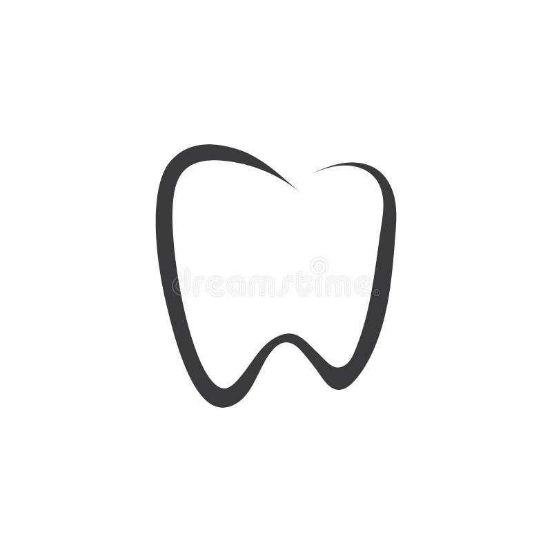 Dental logo Template vector stock illustration