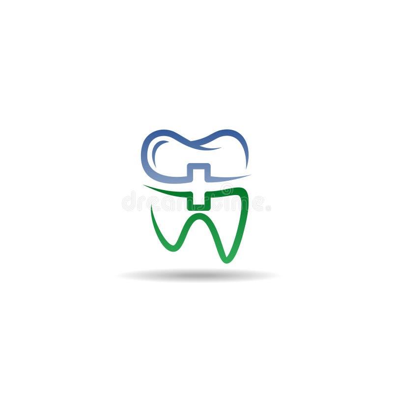 Dental Logo vector template stock illustration