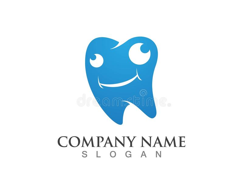 Dental logos symbols icons.  stock illustration