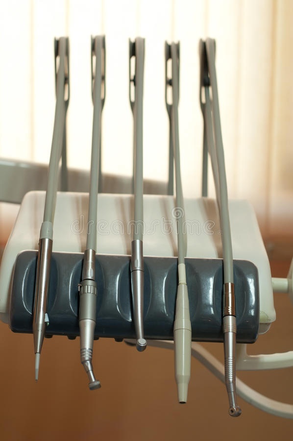 Dental machine and equipment stock image