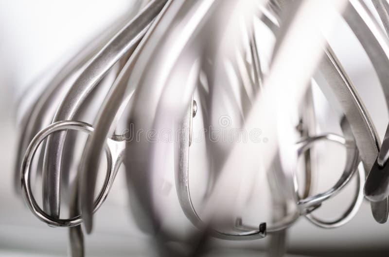 Dental pliers equipment royalty free stock photo