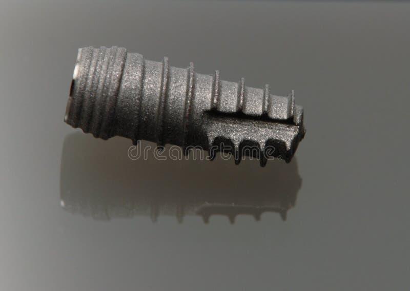 Dental titan implant royalty free stock photos