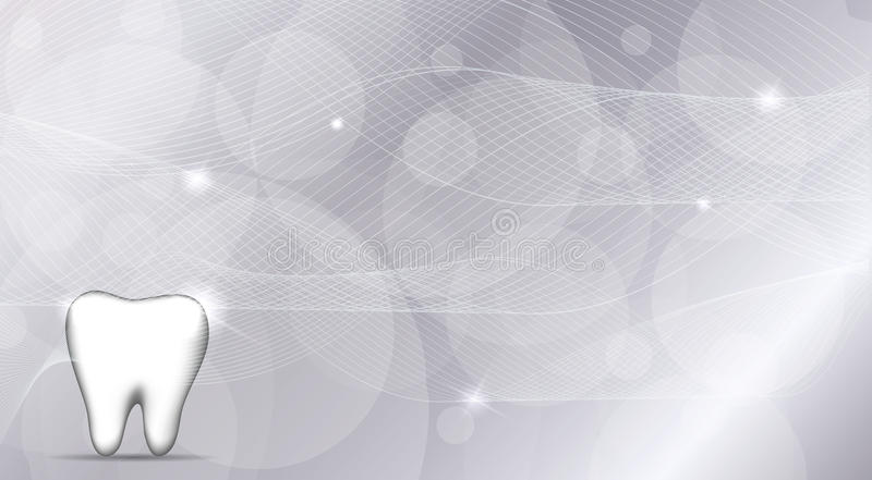 Dental wallpaper. Beautiful silver design. Luxury dental care royalty free illustration