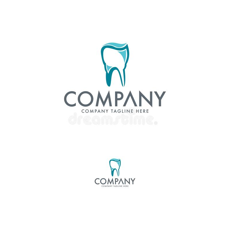 Dentario creativo e denti Logo Template royalty illustrazione gratis