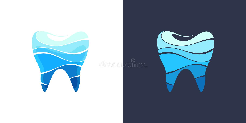 Dente 4 dentais ilustração do vetor