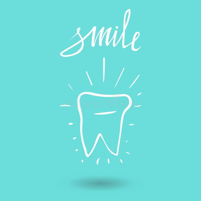 dente Siluetta dell'icona Simboli medici o del dentista di salute, e di medico dell'ufficio La cura orale, dentaria, l'ufficio de royalty illustrazione gratis