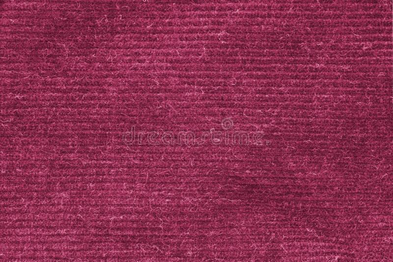 Dentelli la struttura lavata del tappeto, fondo bianco di struttura della tela di tela immagine stock