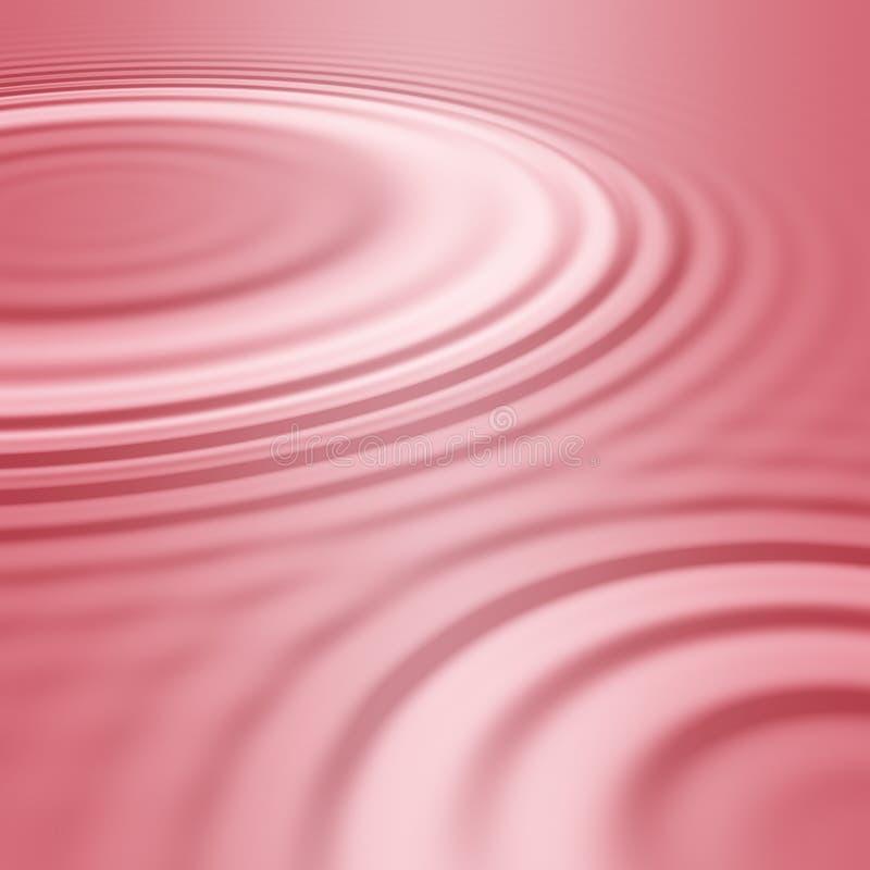 Dentelli le ondulazioni o le onde dell'acqua illustrazione vettoriale