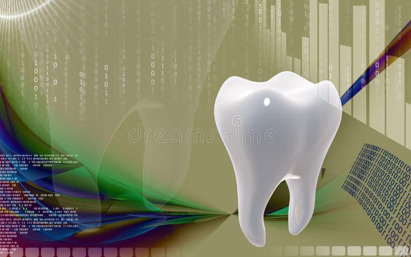 dentes ilustração stock