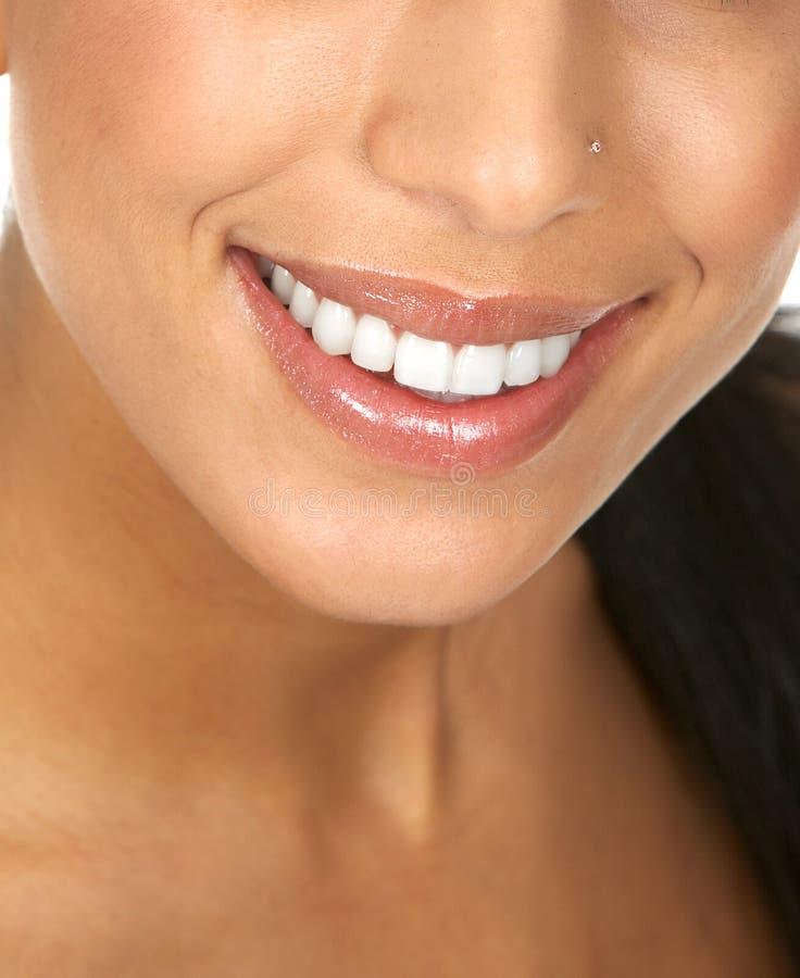 Dentes da mulher foto de stock royalty free