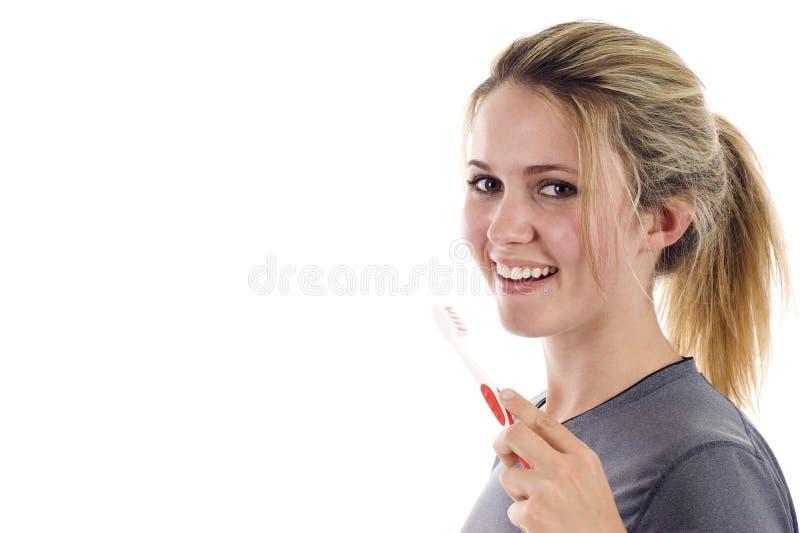 Dentes de escovadela fotos de stock