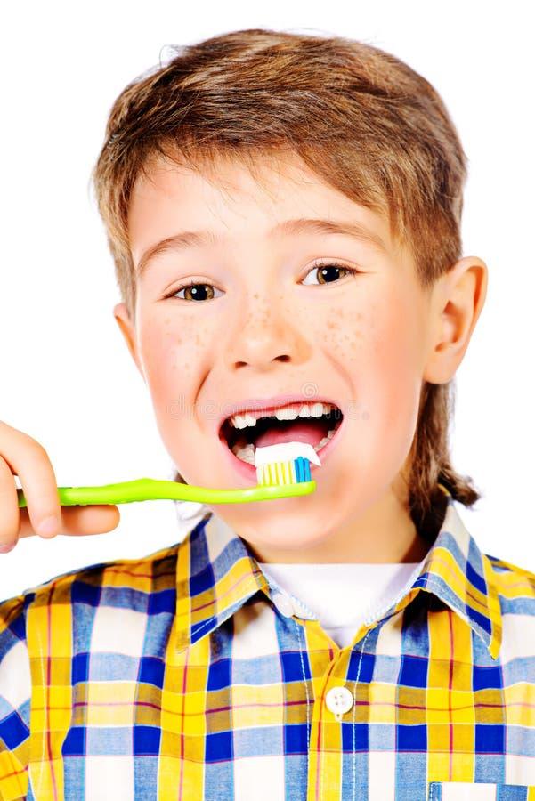 Dentes saudáveis fotografia de stock royalty free