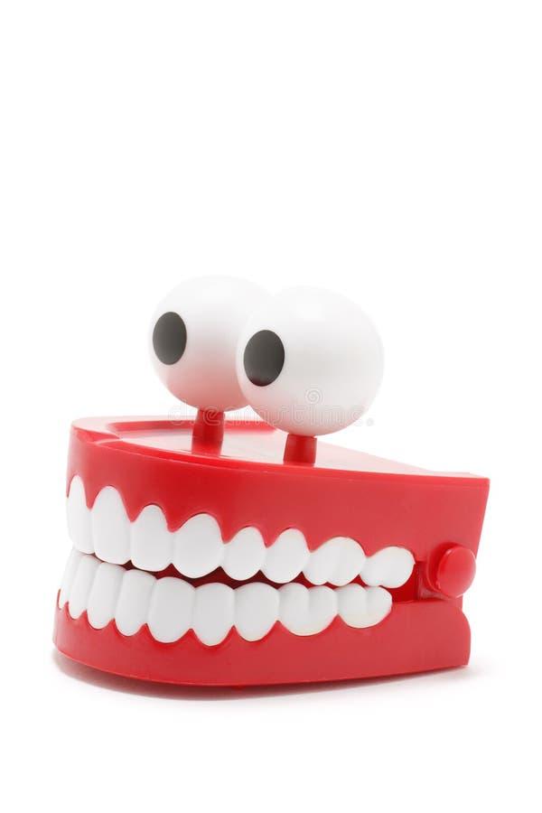Dentes vibrar imagens de stock royalty free