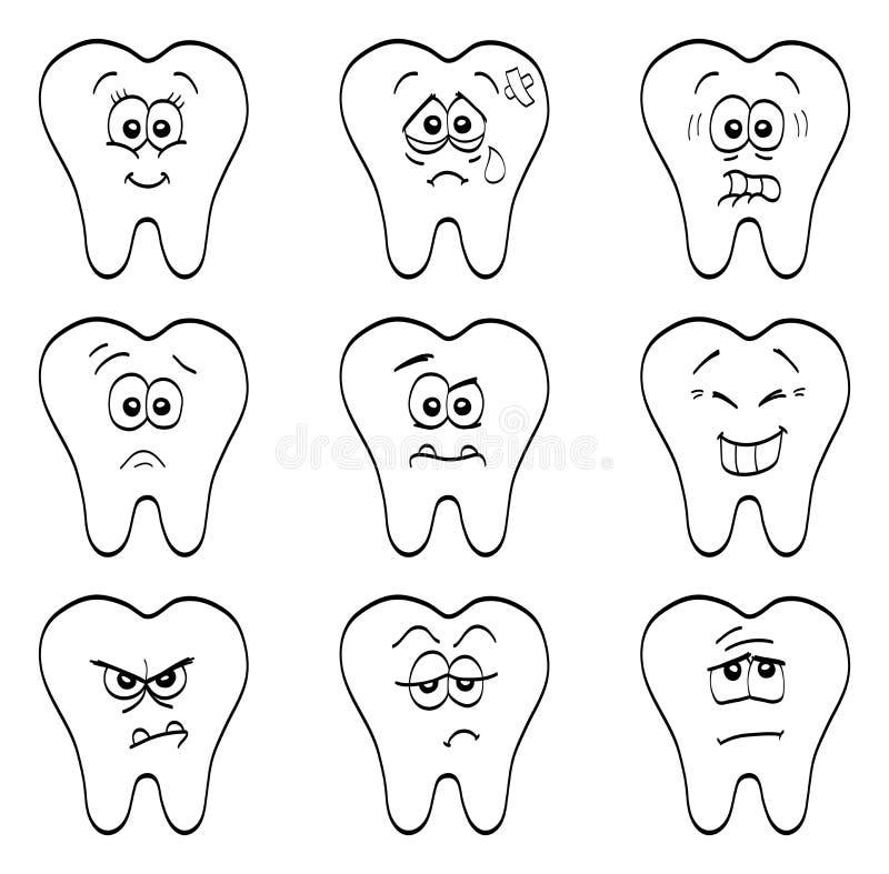 Denti royalty illustrazione gratis