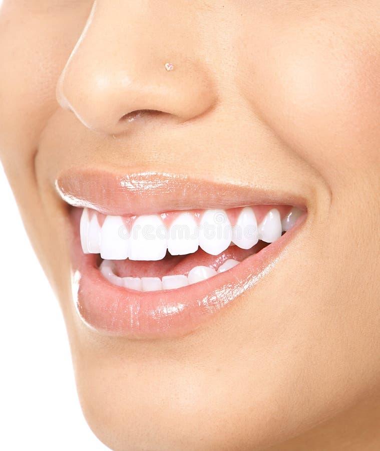Denti della donna fotografie stock