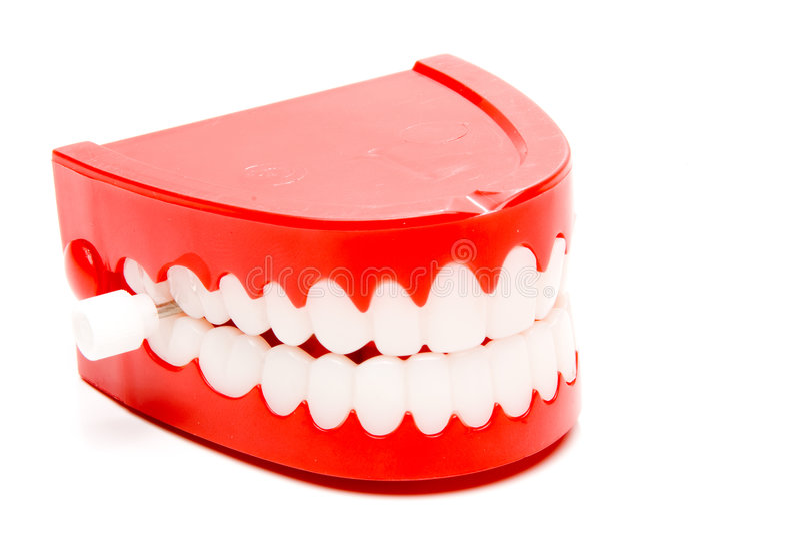 denti di schiamazzo immagini stock