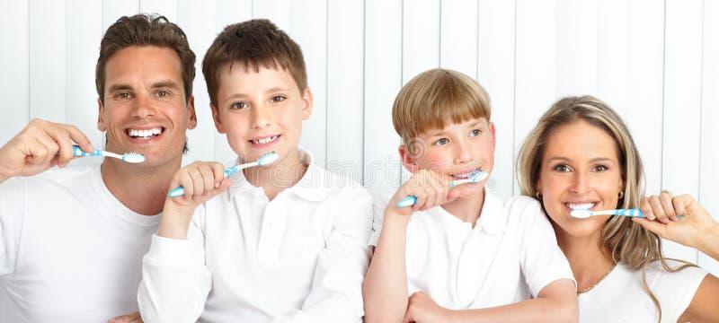 Denti sani immagine stock