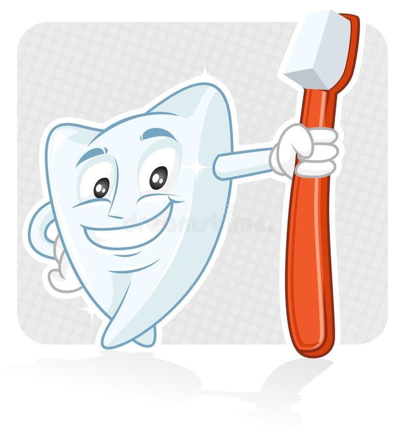 Denti sani royalty illustrazione gratis
