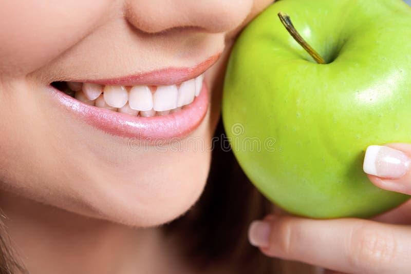 Denti sani immagini stock libere da diritti