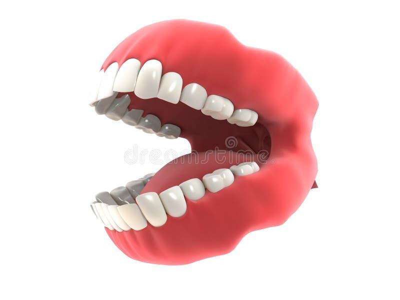 Dentier illustration libre de droits