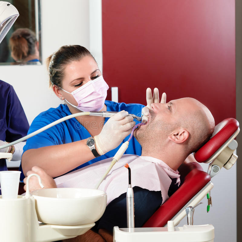Download Dentist stock photo. Image of patient, control, female - 28296986
