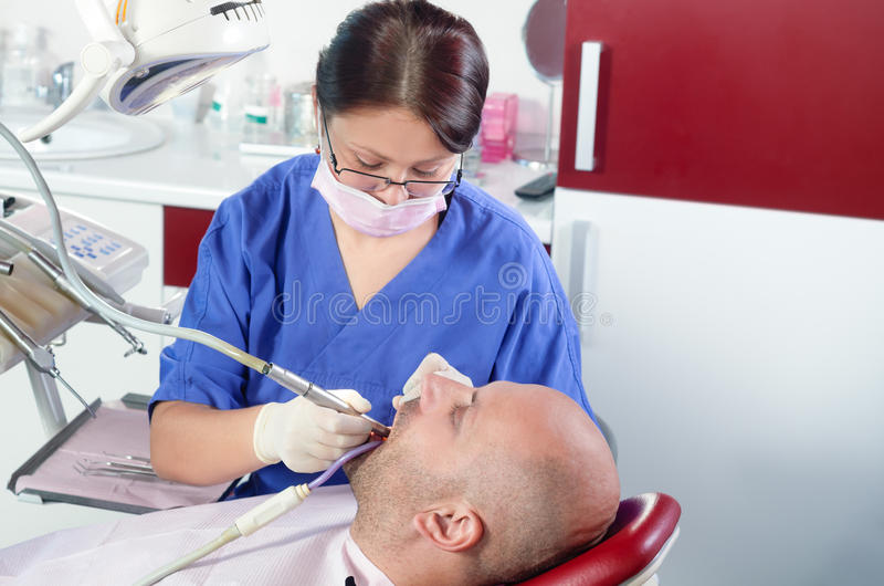 Download Dentist stock image. Image of drill, practitioner, glove - 28445775