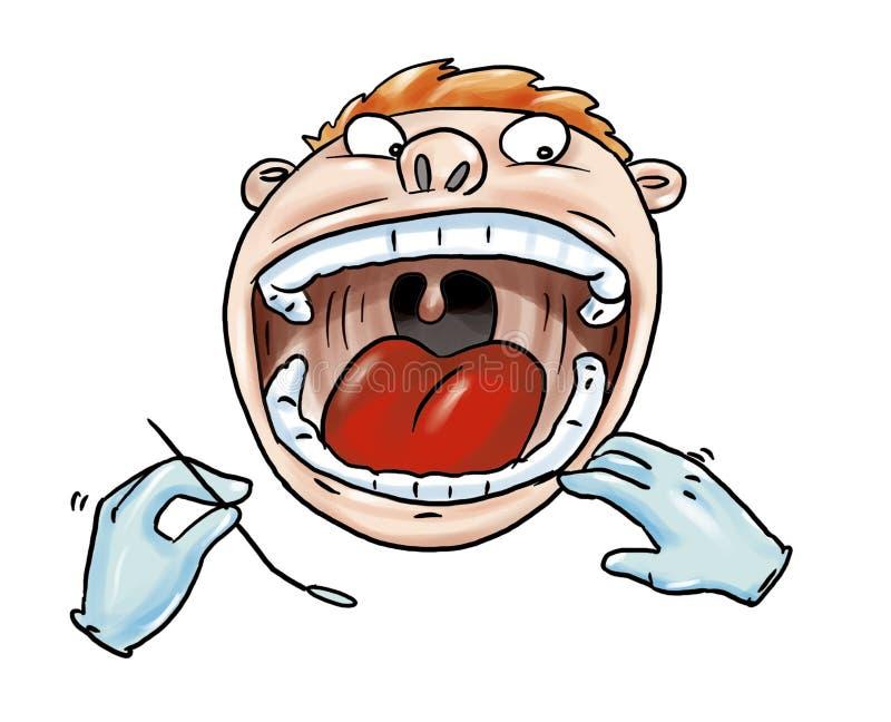 Download Dentist stock illustration. Illustration of dental, medical - 7726105