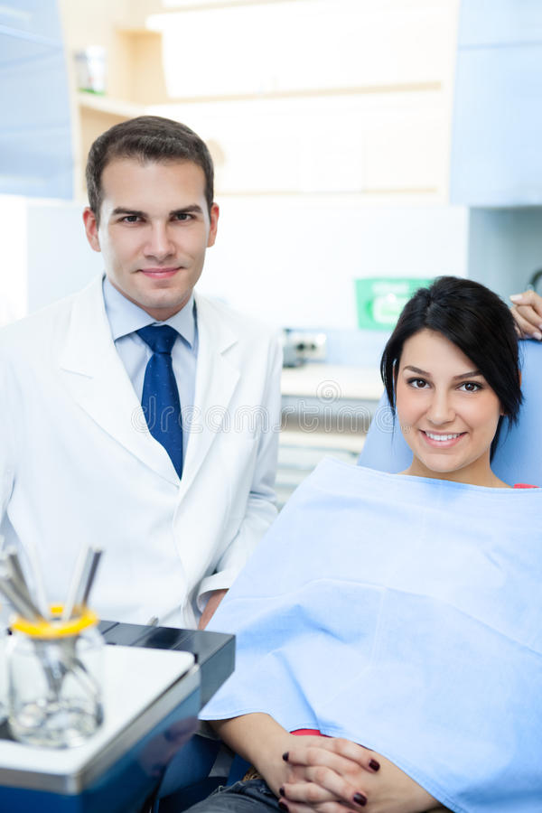 Download Dentist and patient stock photo. Image of medical, people - 30942734