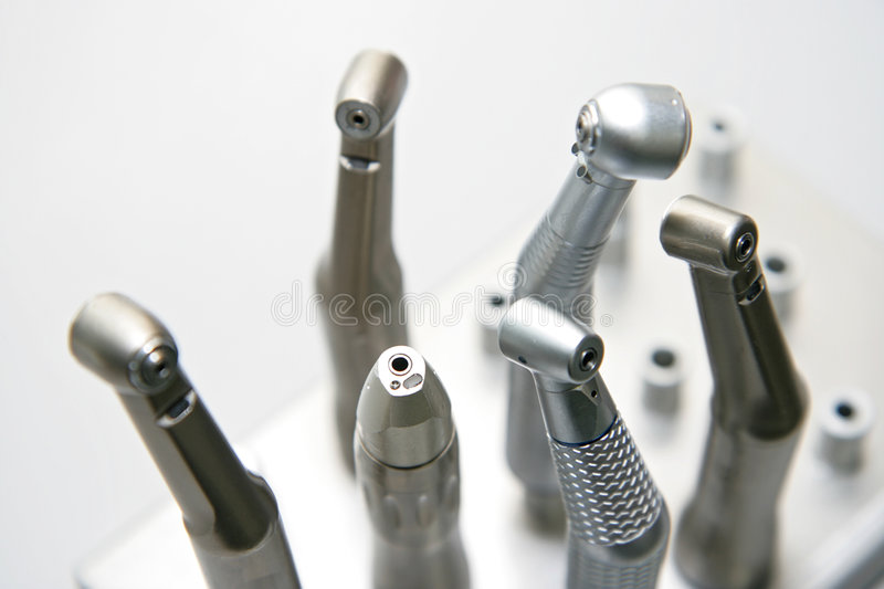 Dentist's tools royalty free stock photography