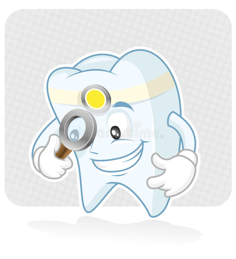 Dentista illustrazione di stock