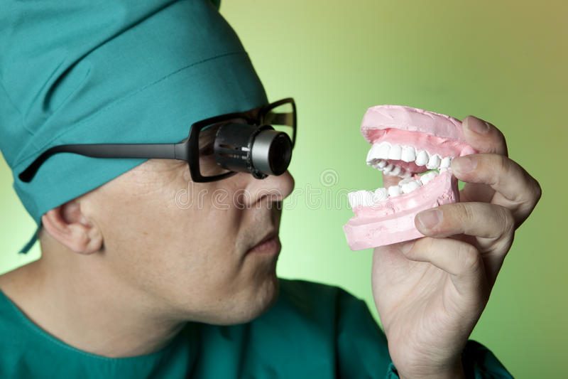Dentista imagem de stock