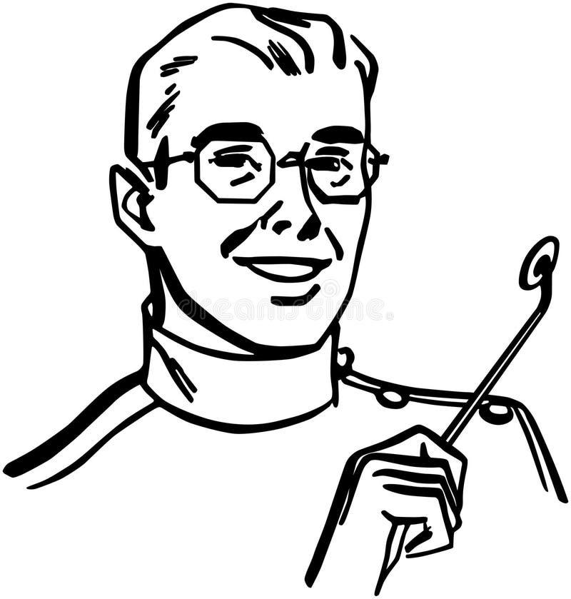 dentista ilustração do vetor