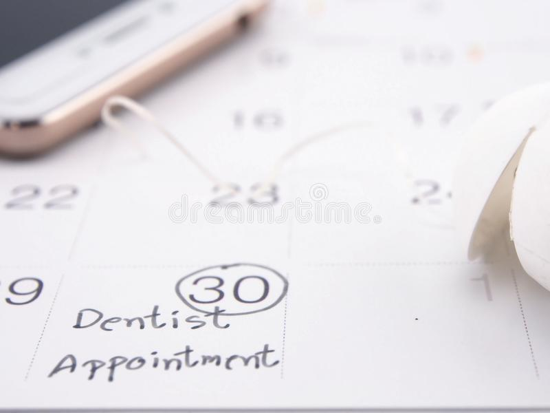 Dentista Appointment immagine stock